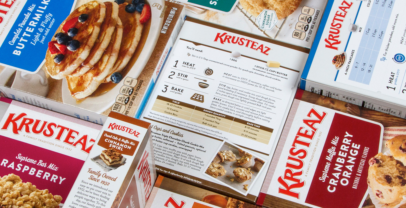 Krusteaz Packaging Refresh 3