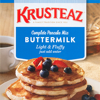 Krusteaz Packaging Refresh