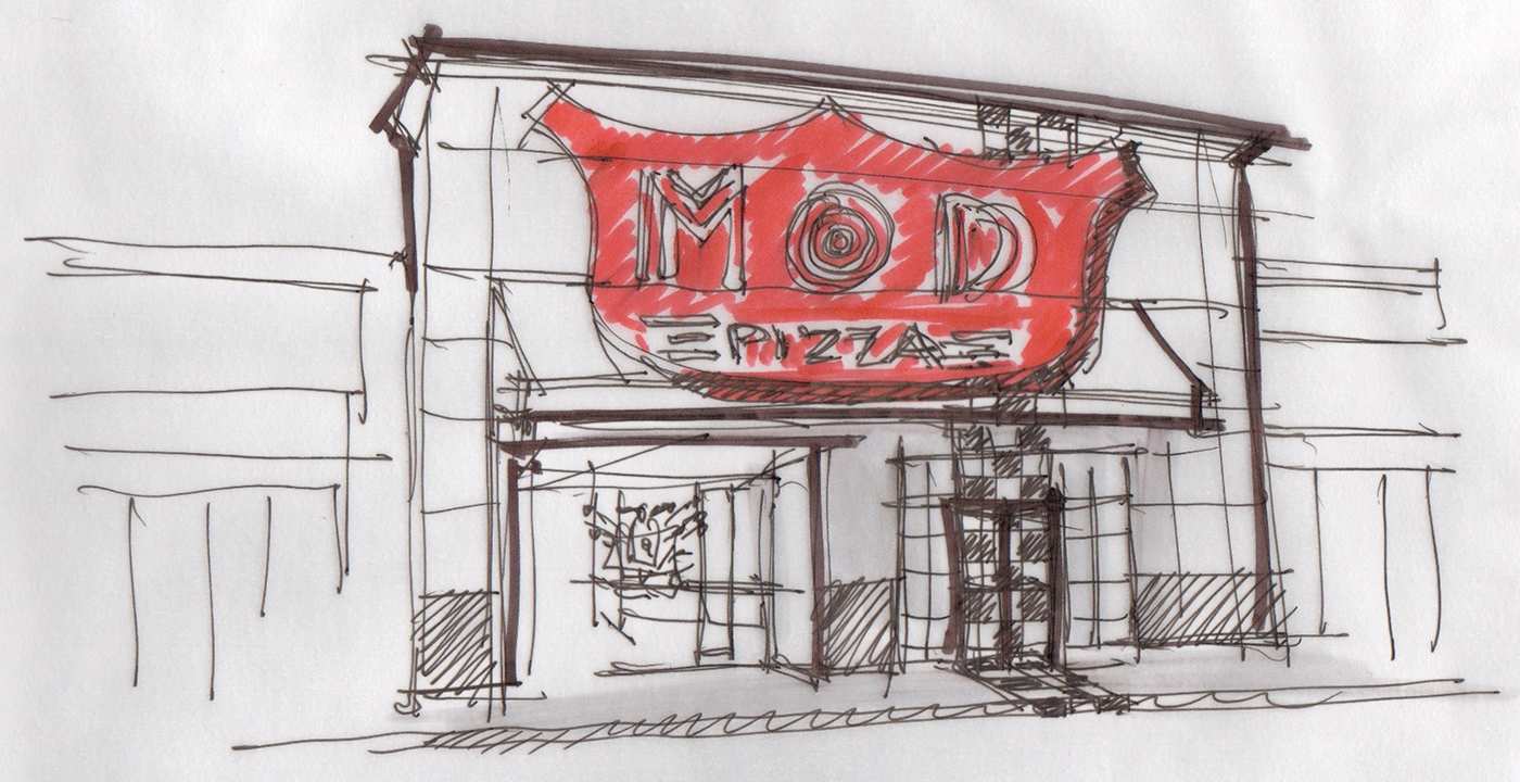 Mod Pizza Re-Branding 8