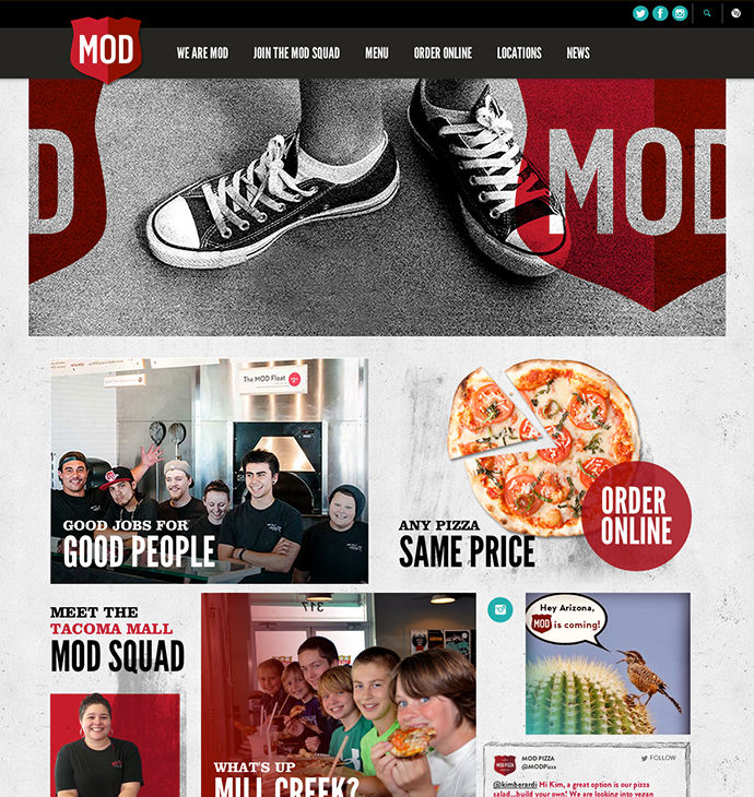 Mod Pizza Re-Branding 11