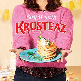 Say It With Krusteaz